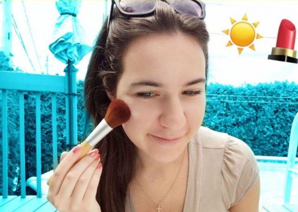 गर्मी में मेकअप पर इस तरह अप्लाई करें सनस्क्रीन
