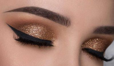 Use Glitter to Make eyes even more beautiful
