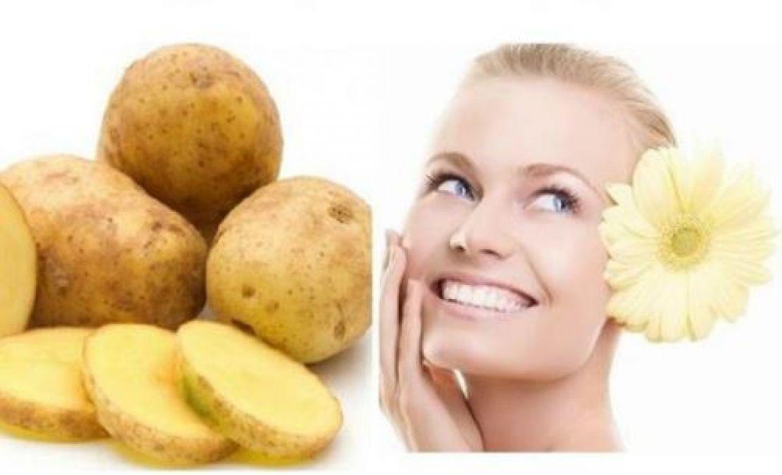 Potato Juice for Skin: 1 teaspoon potato juice can help to remove all skin problems