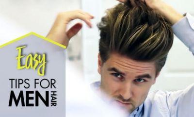 These tips can give men their desired hair look!