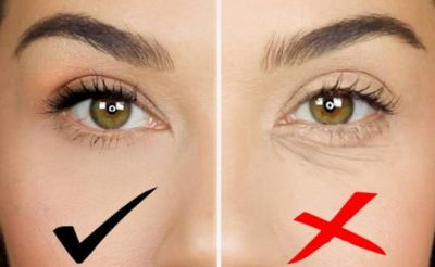 Wrinkles occur under the eyes first, Do in this way!