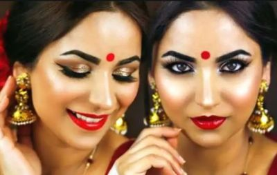 Special Makeup for Hartalika Teej at Home in Low Budget