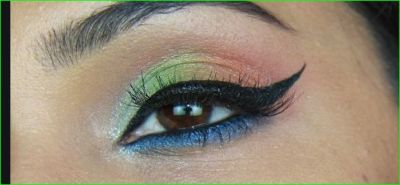 Try this tricolor makeup to show your eyes beautiful on Republic Day
