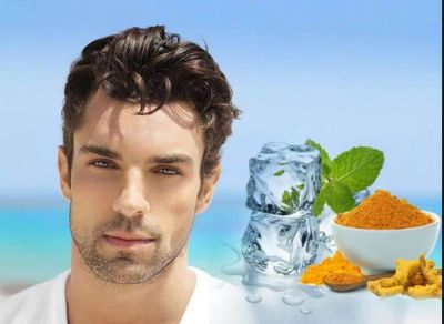 Turmeric Ice Cubes are Beneficial in stopping signs of ageing