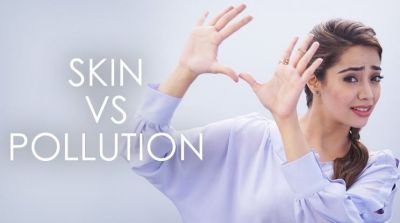 Avoid harmful effects of pollution on skin