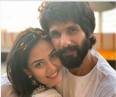 Wow! Shahid Kapoor shares first photo of Meera, check out super cute photo of her