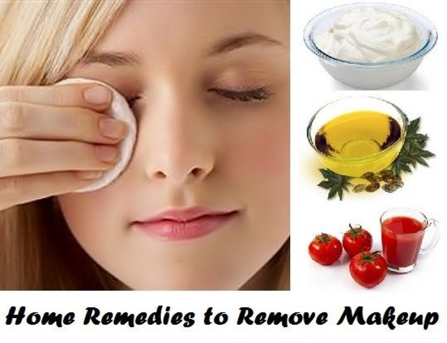 These Things  At Home Help You Can To Do Makeup Removal