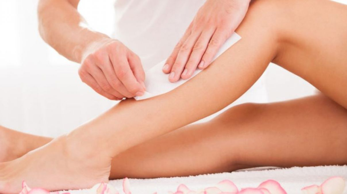 There are many changes in the body after waxing, such damage to the hair