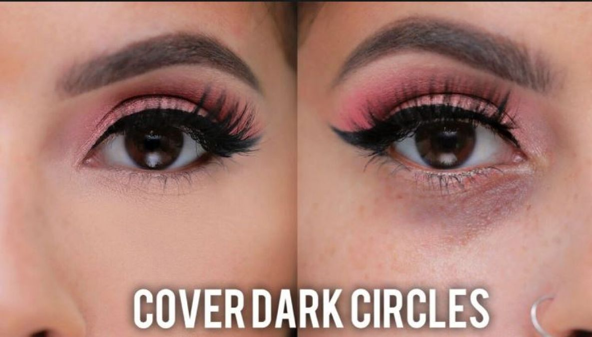 Follow these method tips to hide dark circles