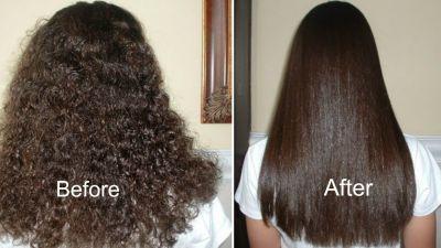 ओलिव आयल से आधे घंटे में करें अपने बालों को स्ट्रेट