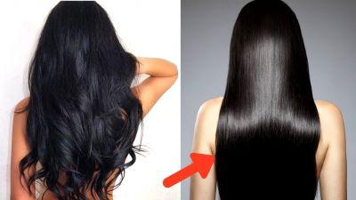 नैचरल तरीके से करें बालों को स्ट्रेट, नहीं होगा नुकसान