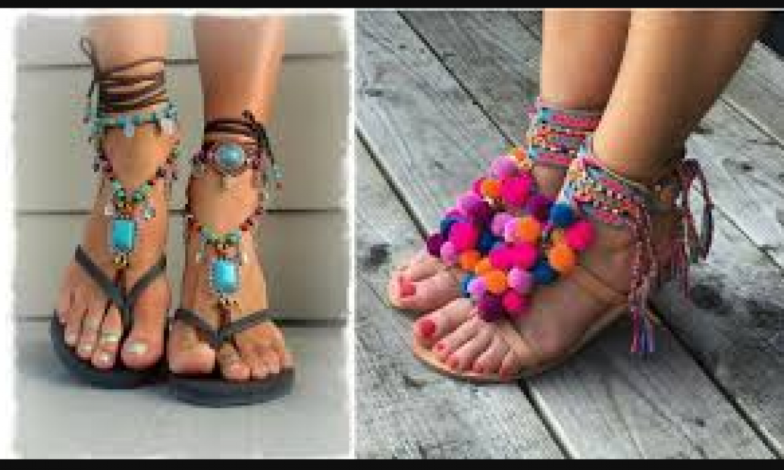 Try these footwears with Indo Western dress