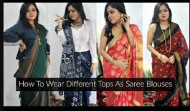 Replace blouse with saree in these different styles, Read here!