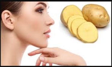 Get glowing skin with the help of potato
