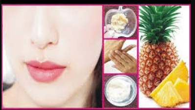 Get rid of face stains with Pineapple facepack