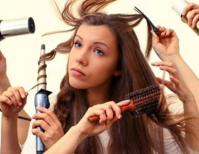Girls commit these mistakes with their hair, know what they are...
