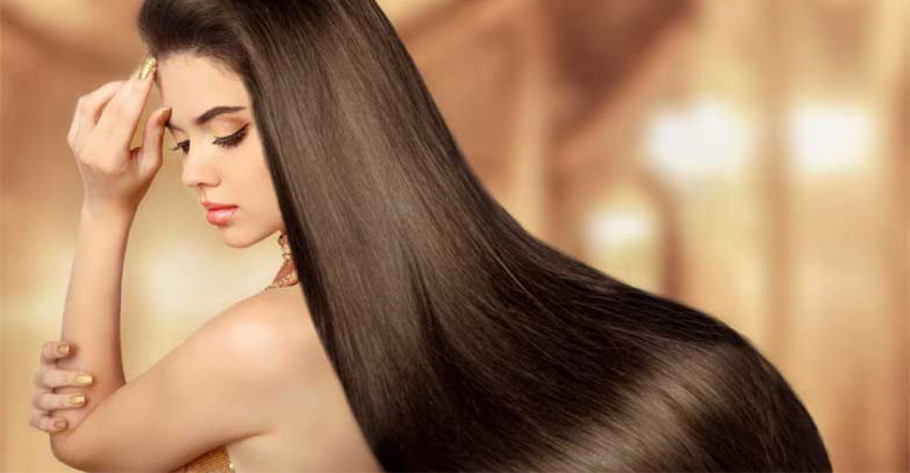 Just do this work twice a month to get smooth and shiny hair