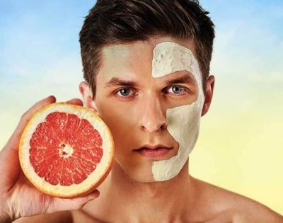 These face packs are special for hard skin of men