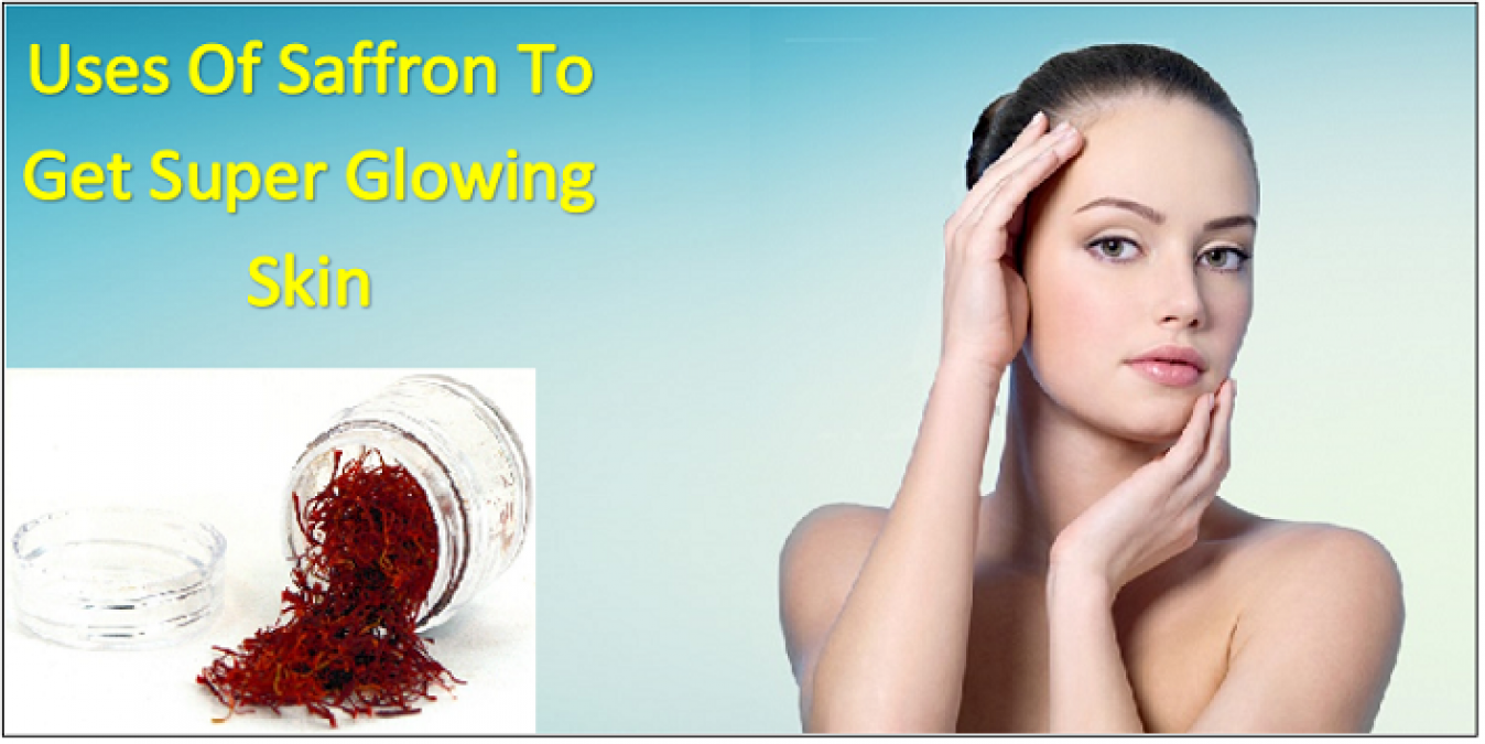Saffron can be used to get rid of pimples, here's how