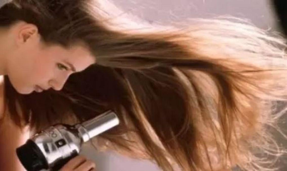 बालों के लिए ड्रायर का उपयोग फायदों के साथ देता है नुकसान