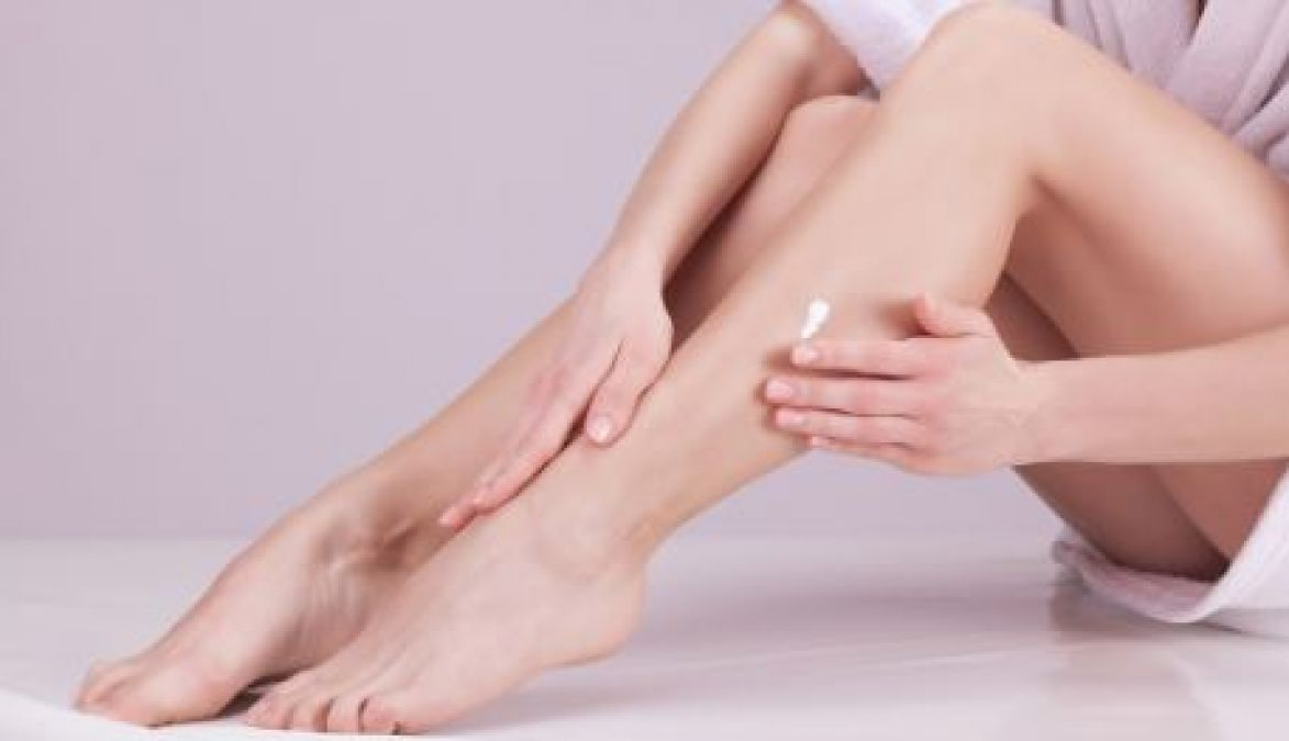 These oils will remove dryness of feet, will make them beautiful