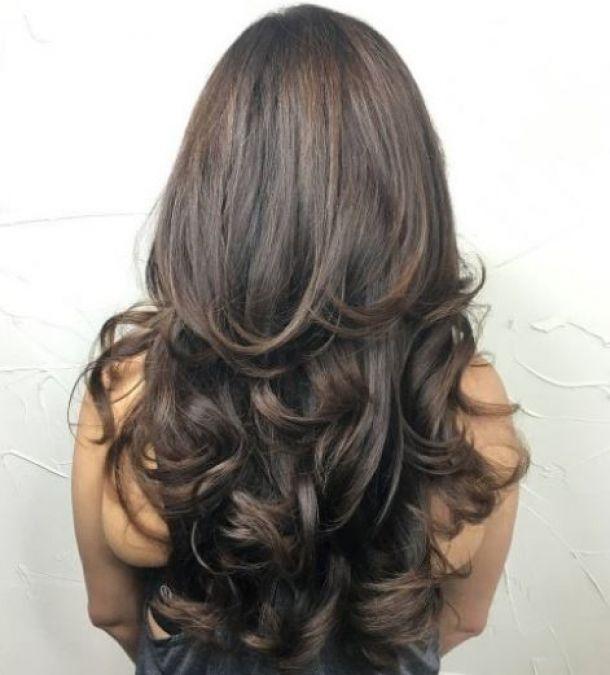 Try This Very Popular Multi Layered Diamond Hairstyle Newstrack English 1