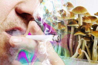 'Magic Mushrooms' Can Help Smokers Break the Habit