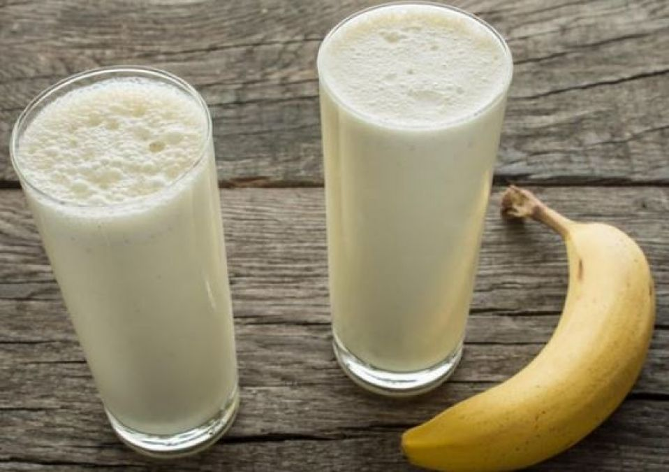 Learn how beneficial milk and banana is for health