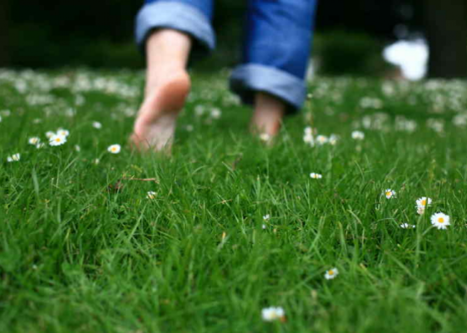 Surprising Health Benefits Of Walking Barefoot On Grass