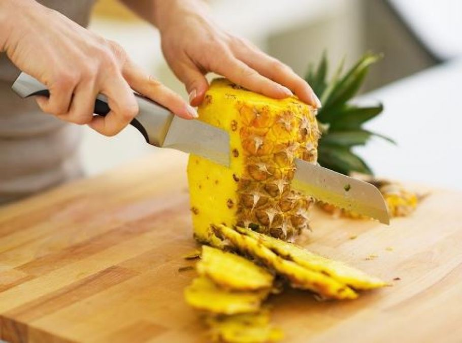 Don't throw off pineapple peels, learn benefits