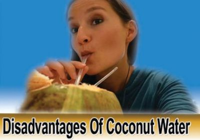 Coconut water is also harmful for health