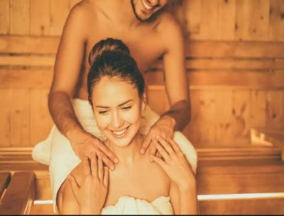 Make your female partner more comfortable with a body massage!