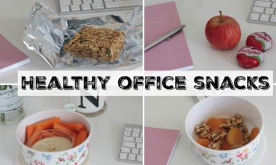Healthy Office Snacks to Keep You Energized and Productive