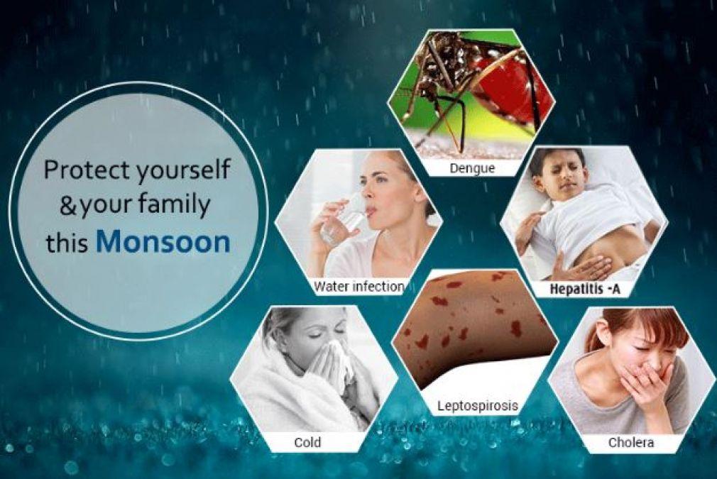 Water-Borne Monsoon Diseases & Prevention Tips