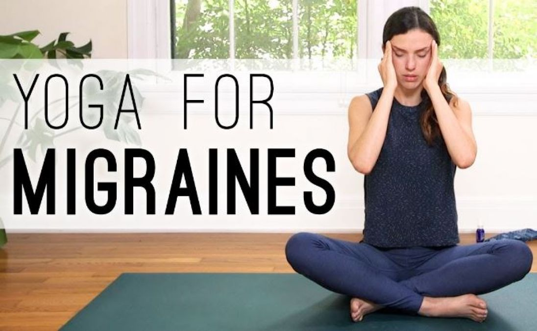 Yoga Pose to Get Rid of Your Headache