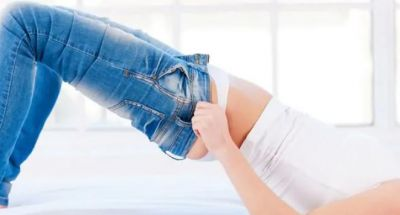 Small-Sized jeans can also make your waist thinner