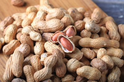 Peanuts increase the amount of protein in the body