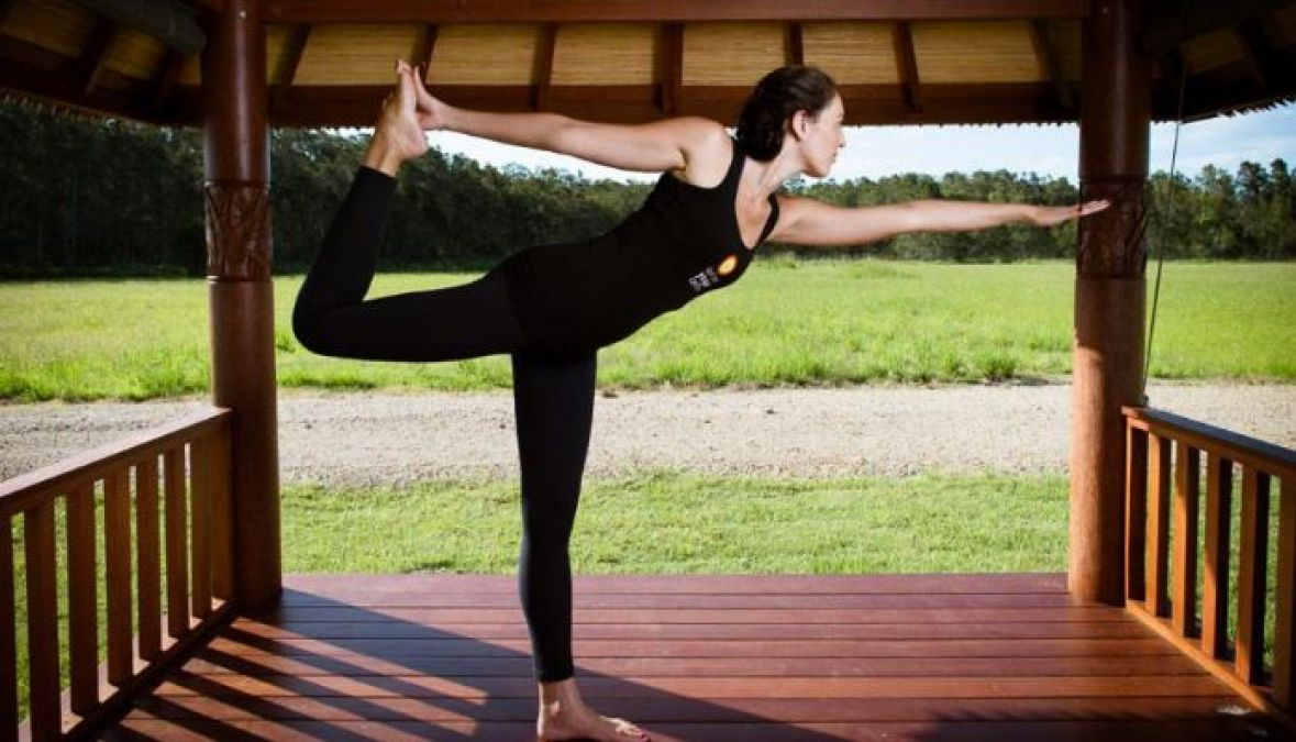 To Increase Concentration Do Natarajasana in this way, Learn Other Benefits