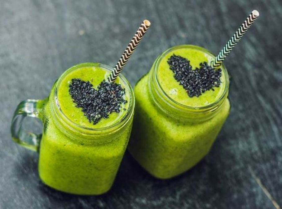 Green smoothies: Spinach-Cardamom Smoothie benefits