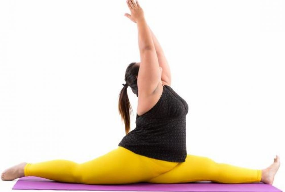 These yogasanas will work for fat women