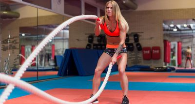 Battle Rope trend is increasing, reduces belly fat