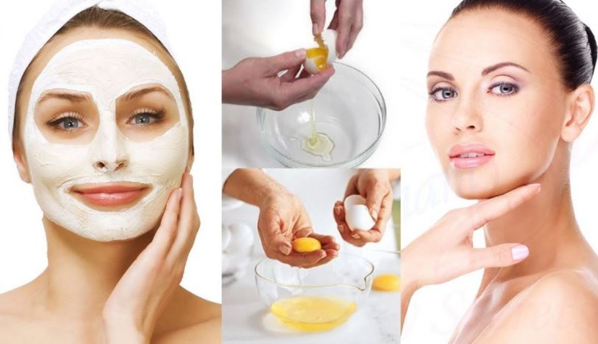 Egg Face pack: an instant unwanted facial hair remover