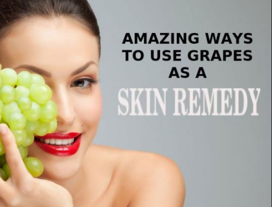 Amazing grape face packs for a glowing skin