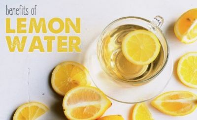 Take lemon with warm Water in the morning in empty stomach, will have many benefits