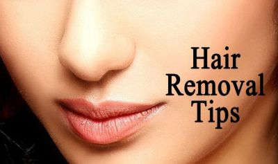 Two domestic ways to remove undesired hair of the face!