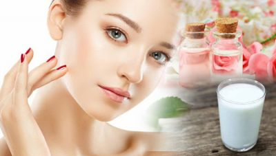 Buttermilk and roses can give you flawless skin!