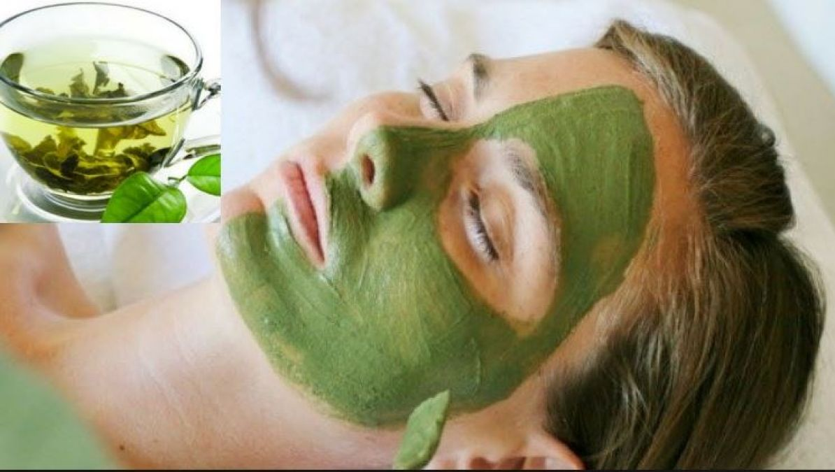 Use Green Tea Pack for Face For All Skin Type, Learn How to make