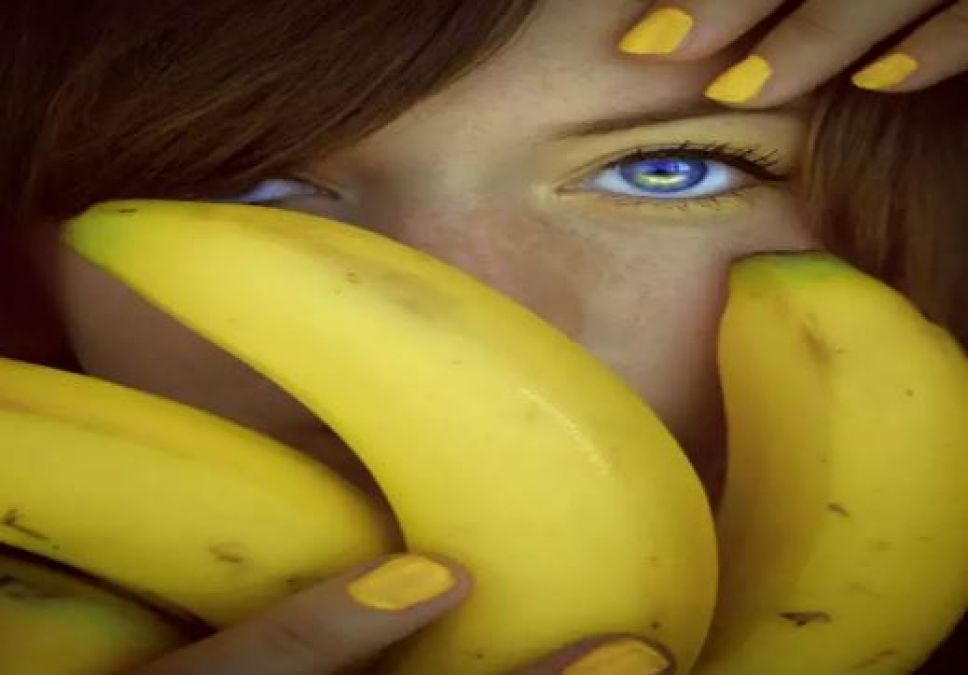 Banana maintains shine of hair, read beauty benefits