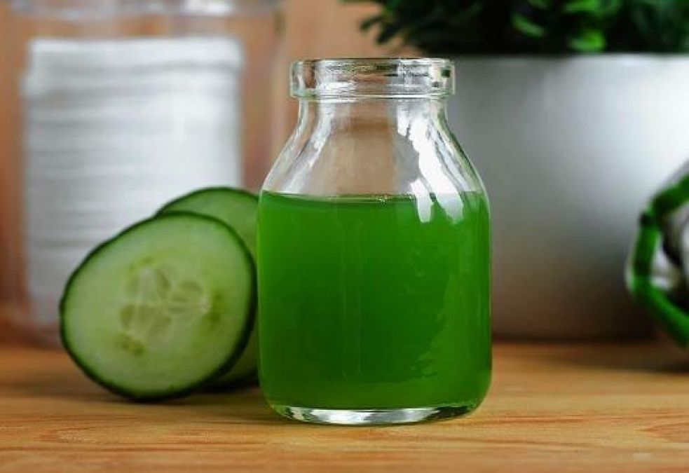 Cucumber juice is beneficial for skin and hair, Learn Benefits