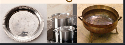 Do not use these metal utensils for cooking